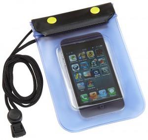 Vandtæt mobilholder